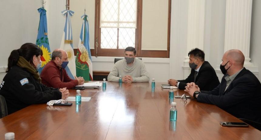 Presentaron el asiento Bolívar de la Dirección de Investigación Criminal al intendente
