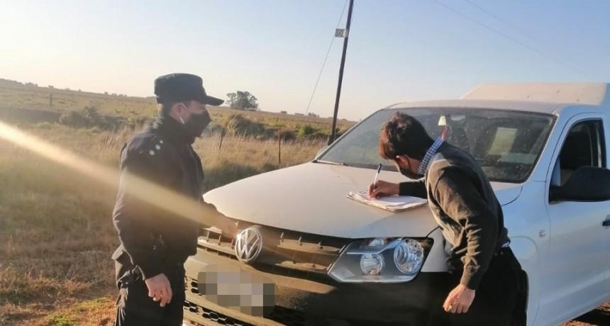 Iturregui: Aprehendieron cuatro cazadores sin licencia