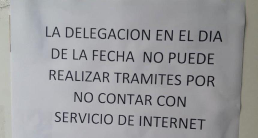 Registro Civil Olavarría con problemas de conexión