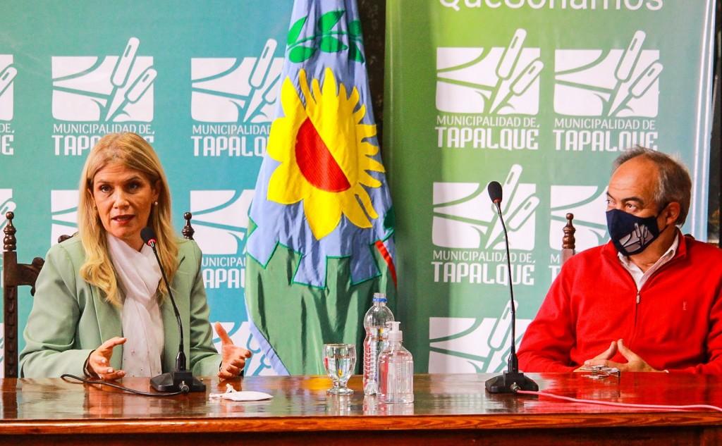 Días pasados, la vicegobernadora de la Provincia visitó Tapalqué
