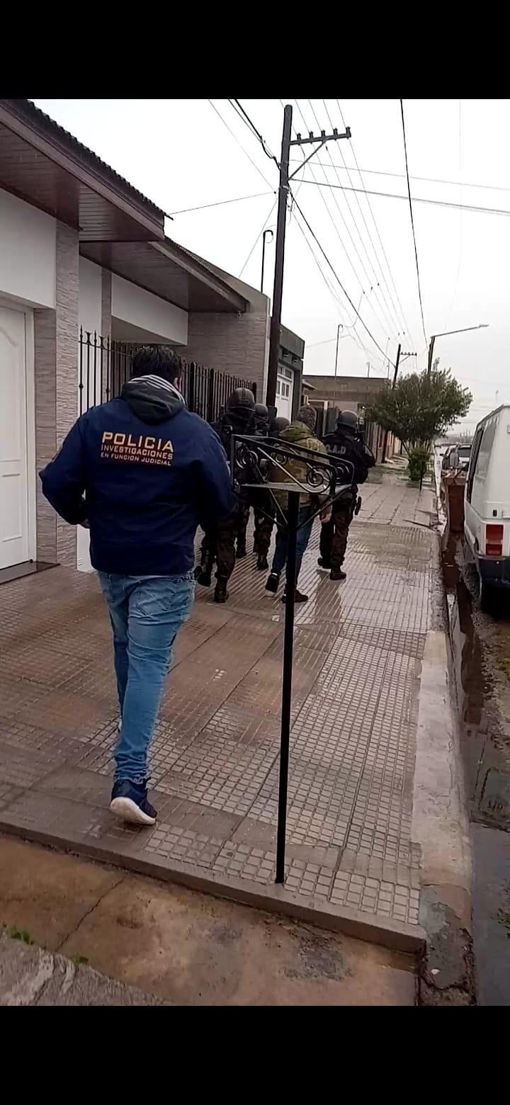 Allanamientos positivos por un robo en la zona de Nicolás Avellaneda