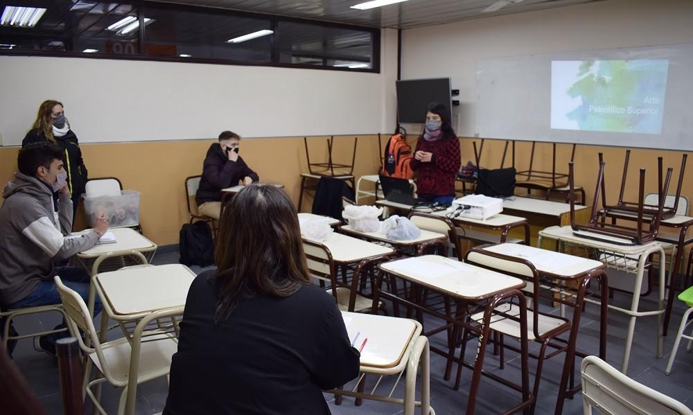 Comenzaron las clases presenciales en la Facultad de Ciencias Sociales