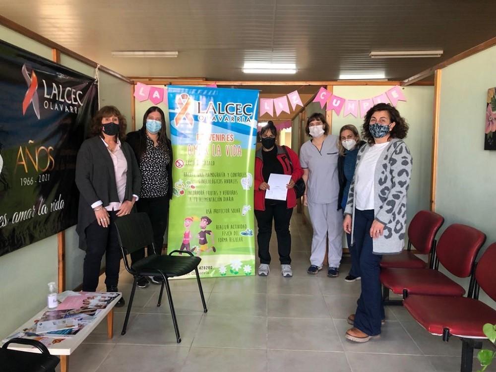 Se realiza la campaña de prevención de cáncer de cuello uterino