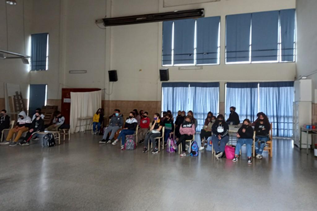 Intervenciones del equipo municipal de Género en el mes de la ESI