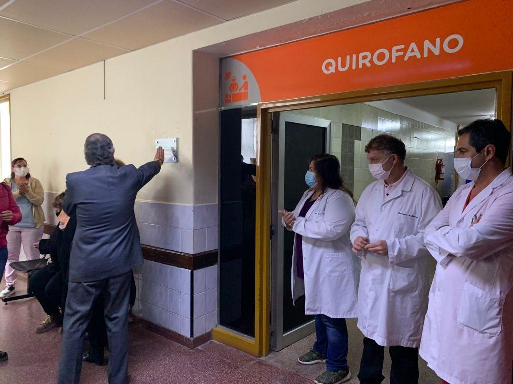 "Homenaje a ""Rayito"" Michelena en el Hospital Municipal"