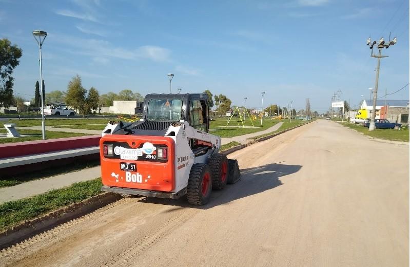 En los barrios Carlos Pellegrini y Villa Magdalena se desarrollaron trabajos de mantenimiento