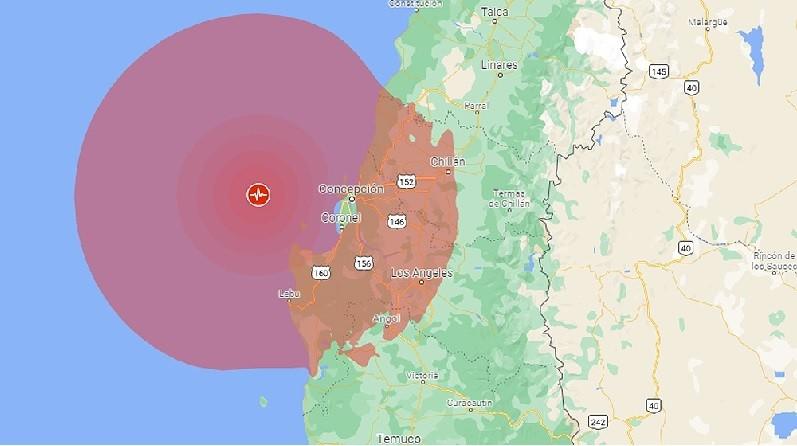 Un sismo de 6,6 Richter golpeó el sur de Chile