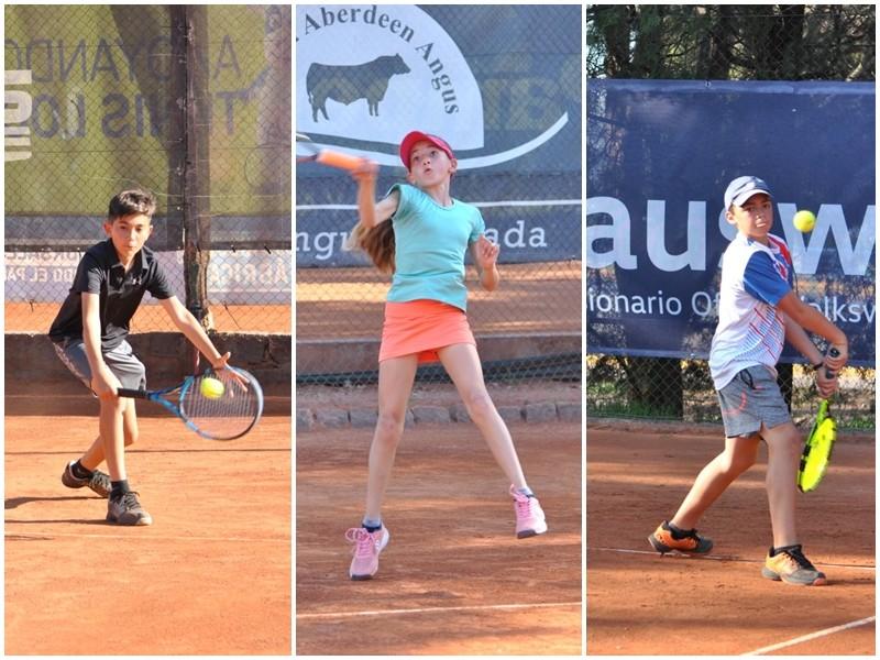 Tenis: Los menores de la Federación Centro se lucieron en el regional