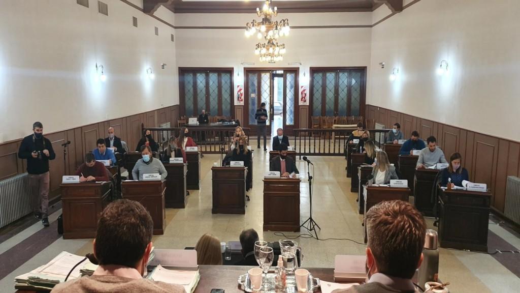 Volvió la presencialidad a las sesiones del Concejo Deliberante