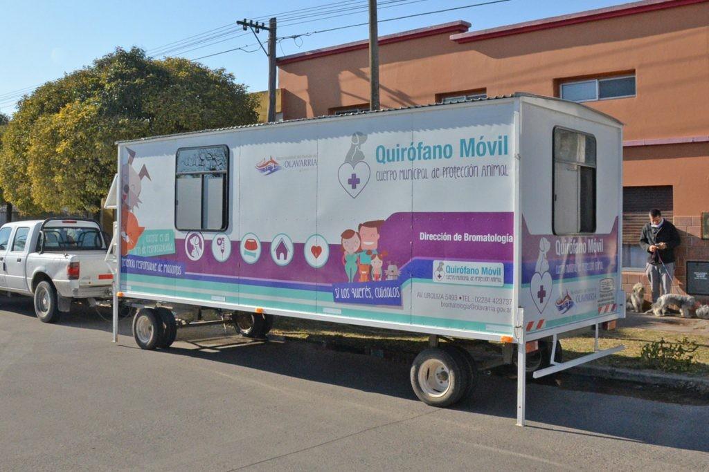 El Quirófano Veterinario Móvil llega al barrio Pickelado