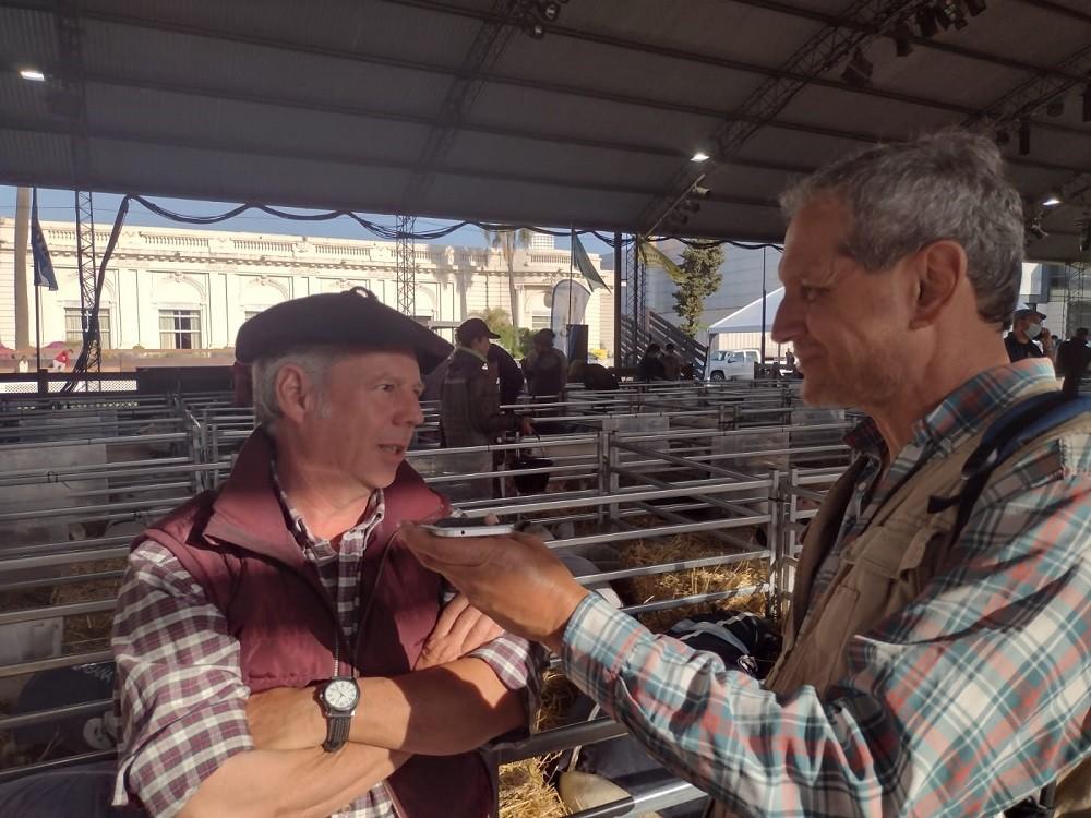 Criadores de la raza ovina celebran la realización de la muestra en Palermo