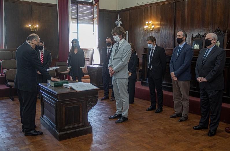 El juez Echevarría juró como integrante de la Cámara Penal