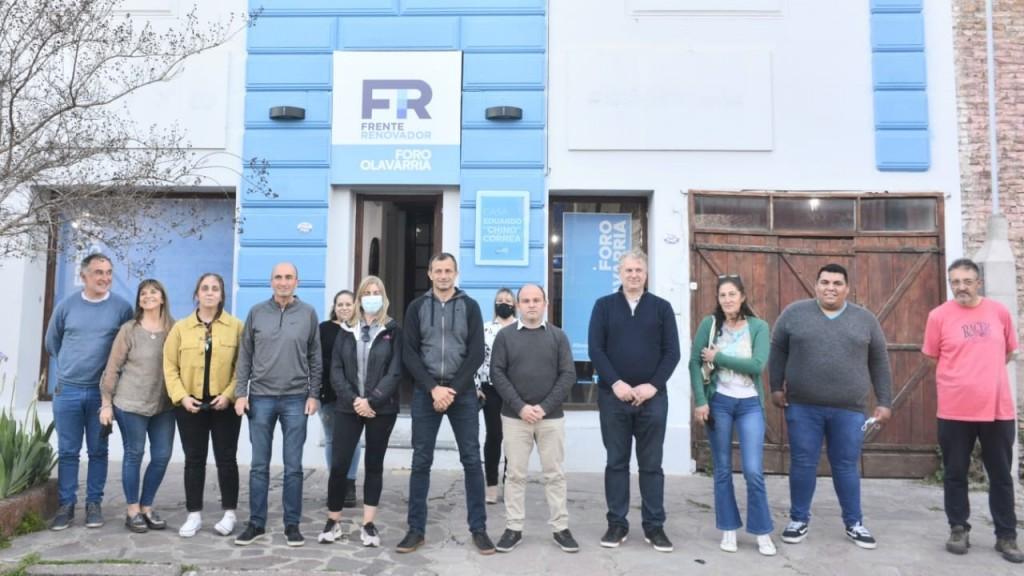Bucca visitó la Casa Eduardo Chino Correa