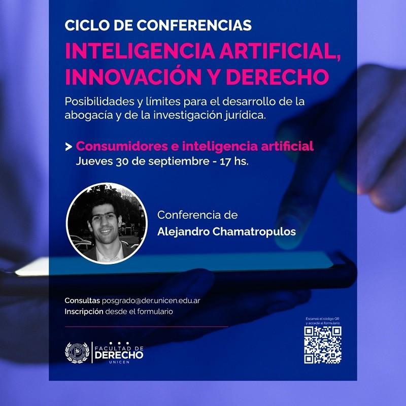 Ciclo de conferencias: Inteligencia artificial, innovación y Derecho