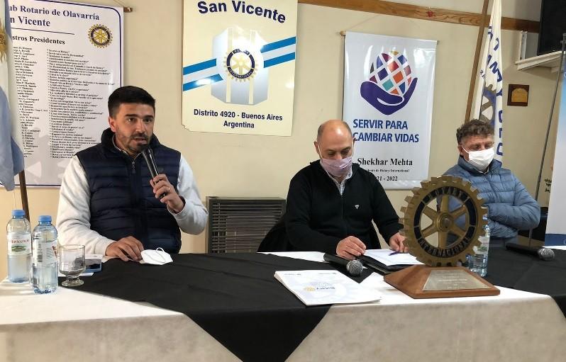 Rotary y Municipio lanzan un proyecto junto a toda la comunidad