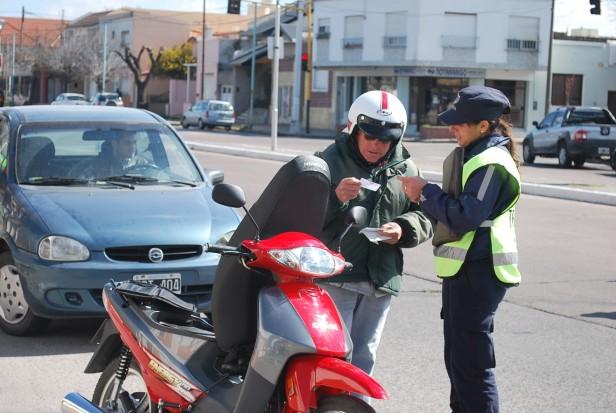 El Gobierno Municipal realizó más de 400 actas de infracción en los controles de tránsito durante octubre