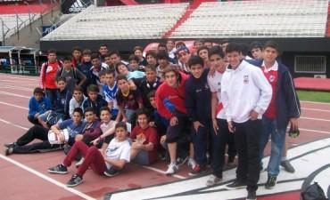 Los chicos del Club El Fortín viajaron a River