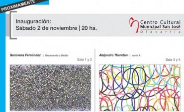 Este sábado inaugura la nueva muestra del Centro Cultural Municipal San José
