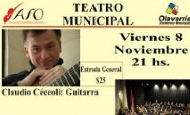 Concierto en el Teatro Municipal