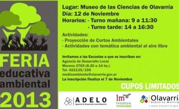 Feria Educativa Ambiental en el Museo de Ciencias
