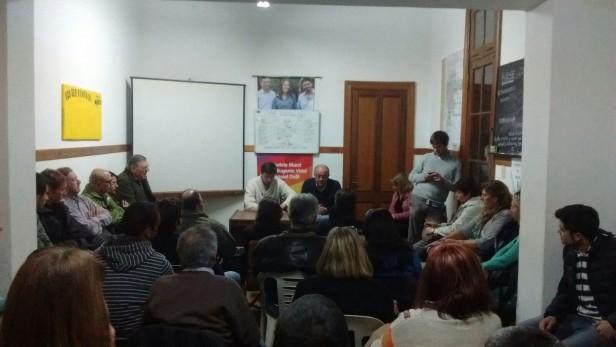 Ezequiel Galli se reunió con fomentistas