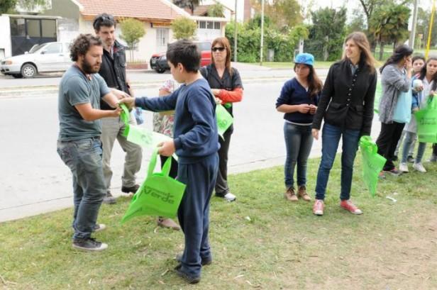 Ya se entregaron más de 48000 Ecobolsas en la ciudad