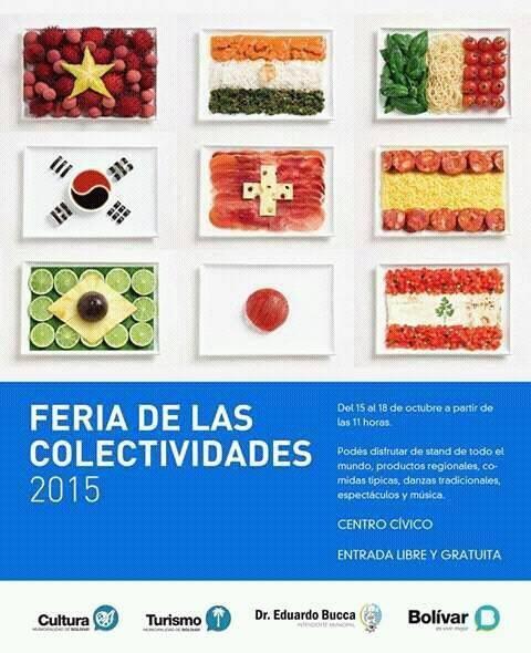 Bolívar: primera edición de la Feria de las Colectividades