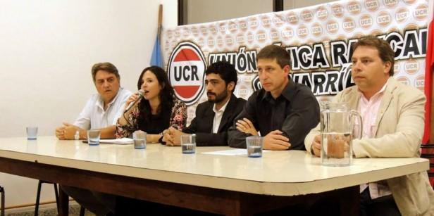 La UCR local ratifica su integración en el Frente Cambiemos