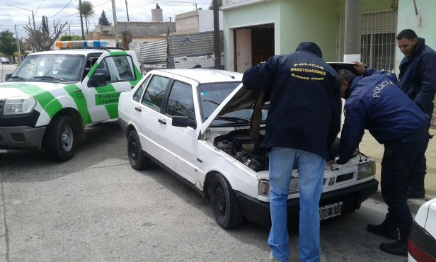 Operativos de control de delitos contra la propiedad de automotores
