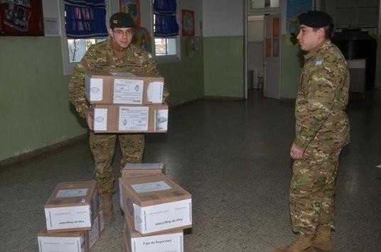El Ejército alista más de 500 hombres para las elecciones