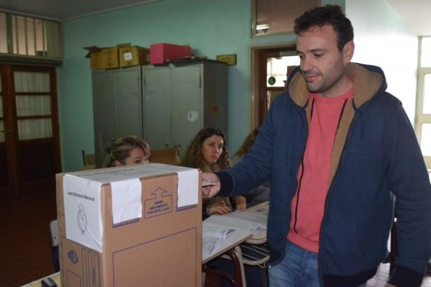 El voto de Alejo Rivera
