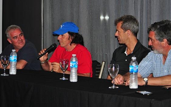 Guillermo Vilas gloria del deporte argentino en Olavarría