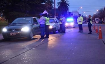 Controles de tránsito de la Agencia de Protección ciudadana