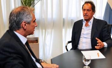 Daniel Scioli  visitaría Olavarría