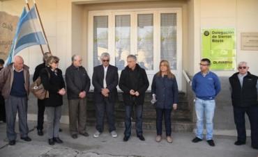 Sierras Bayas tiene una nueva y renovada Delegación
