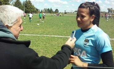 Rugby: Sofía González destacada jugadora estuvo en Olavarría