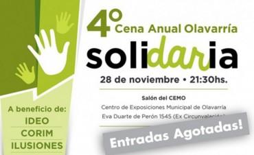 Cena Solidaria: se conocieron los ganadores de dos entradas