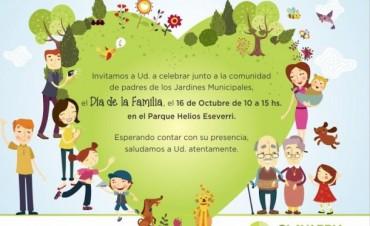 Los Jardines Maternales Municipales celebran el día de la familia en el Parque Eseverri