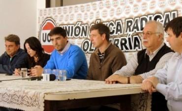 Fiscales de la UCR trabajarán para Galli