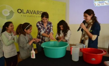 Día Mundial del Lavado de Manos: Estudiantes de primaria participaron de una jornada recreativa