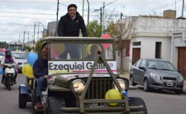 Cierre de campaña de Ezequiel Galli