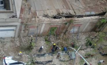 Informe del Gobierno Municipal tras el derrumbe de Alsina y Necochea