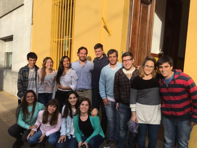 Las Juventudes Olavarría y Azul del PRO se reunieron el sábado