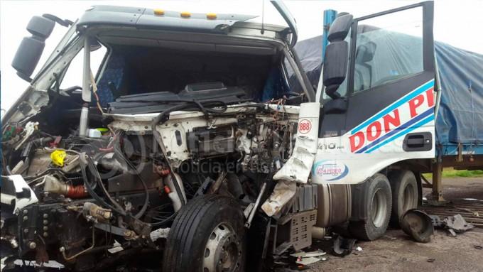 Otro camionero de la zona involucrado en accidente en la Ruta 3