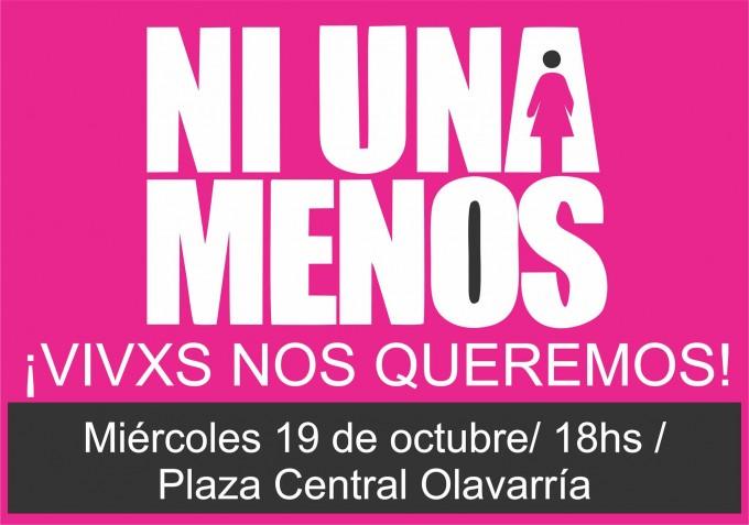 #NiUnaMenos: el Municipio junto a la Mesa Local contra la Violencia Familiar y de Género adhiere a la movilización de hoy