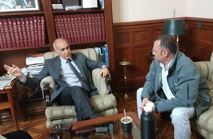 Cellillo se reunió con el vicegobernador y le planteó el tema de la 'nocturnidad'