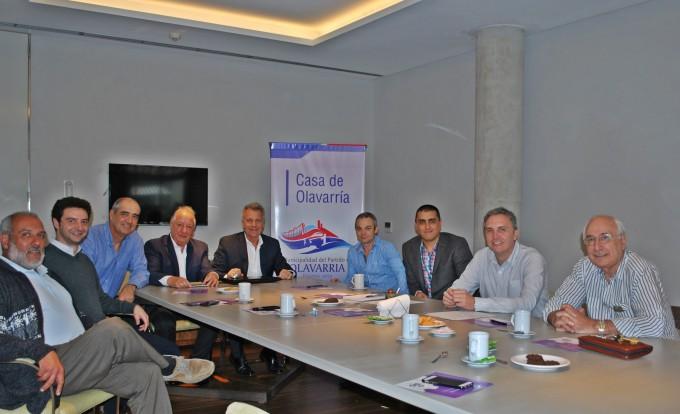 La Casa de Olavarría fue sede de una reunión entre referentes de la industria local y provincial