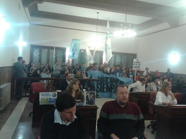 Concejo Deliberante :  pasó la décimotercera sesión ordinaria