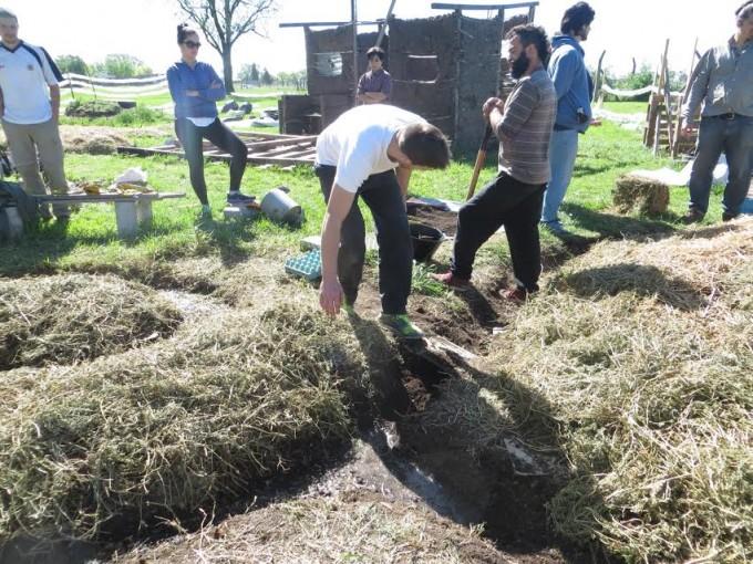 Ciclo del Taller de Permacultura y Huerta Agroecológica en el ENAPE