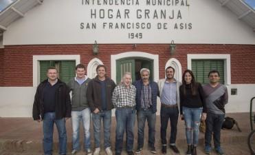 Azul: visita de autoridades de PAMI al Hogar San Francisco